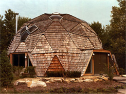 Our ventilated geodesic dome homes are built and shipped worldwide!